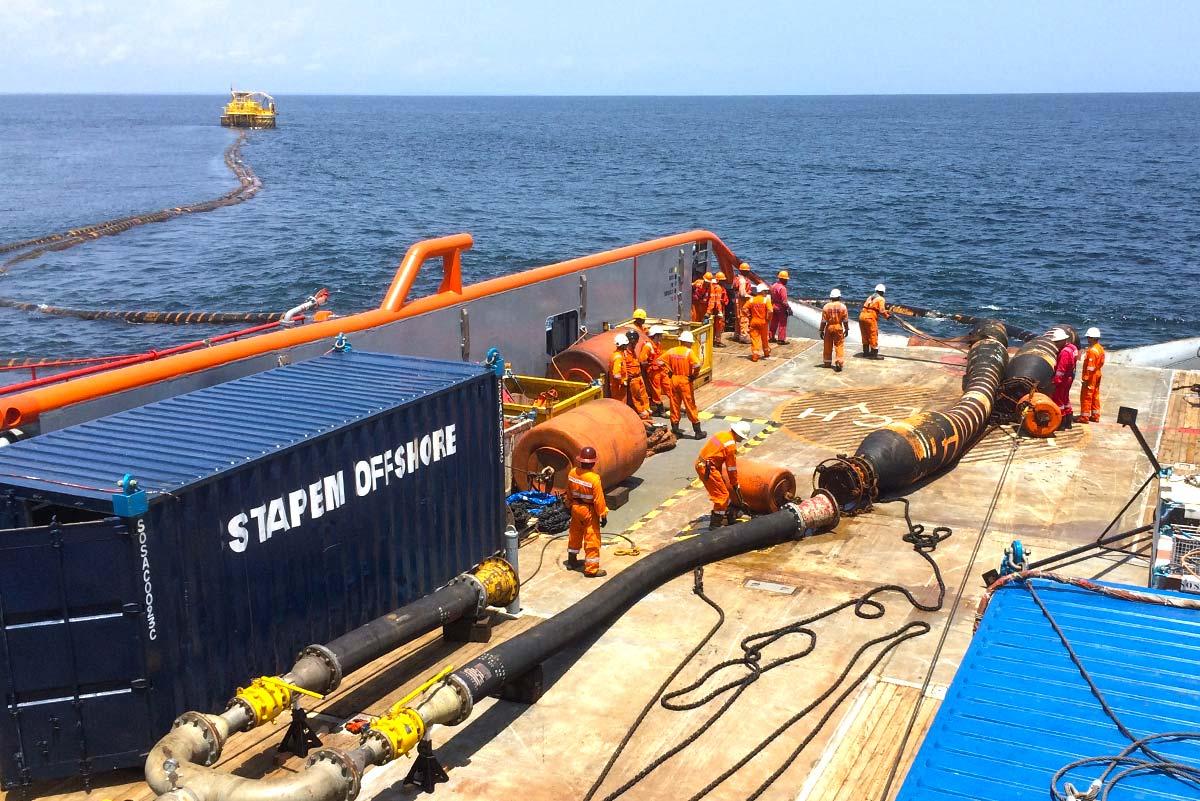 Line Amp Hose Handling Stapem Offshore